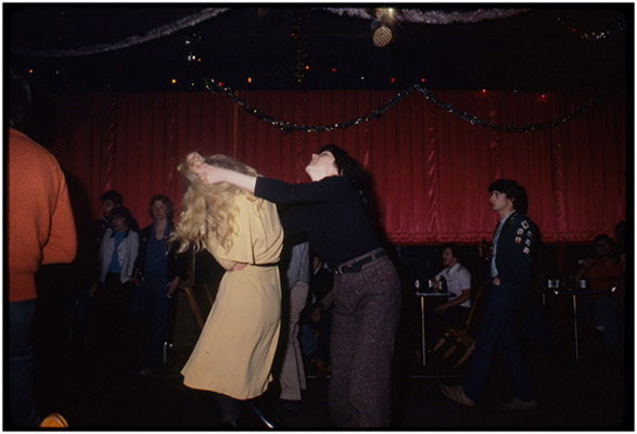 Carol Hackett and Jeanette Reinhardt at Smiling Buddha, c. 1979, Courtesy of Paul Wong