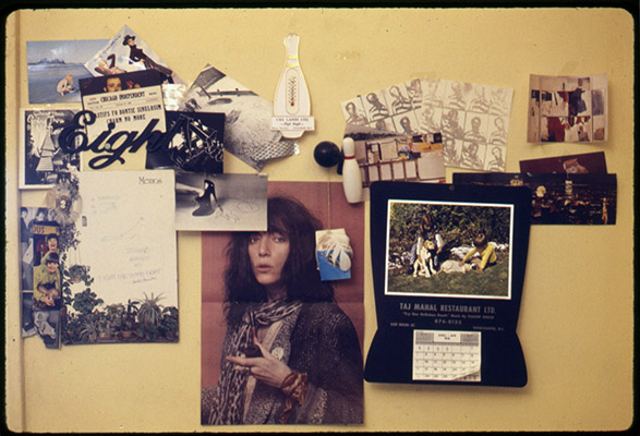 Kenneth Fletcher's house, Patti Smith shrine, 1978, Courtesy of Paul Wong