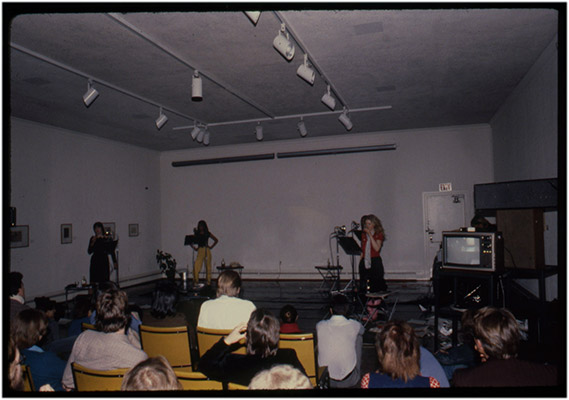'4' performance, Regina, 1980, Courtesy of Paul Wong