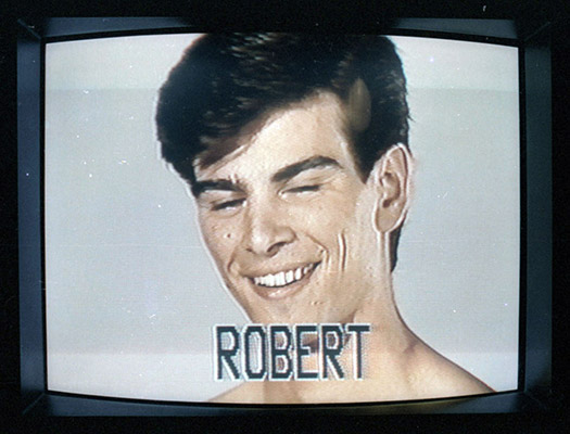 """Robert"", Prime Cuts optical print, 1981, Courtesy of Paul Wong"